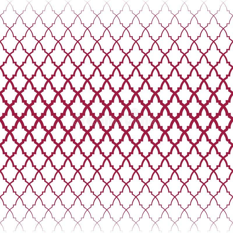 Картина арабескы   Безшовный иллюстрация вектора
