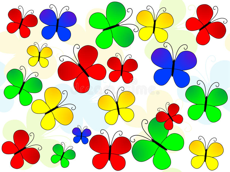 картина бабочек бесплатная иллюстрация