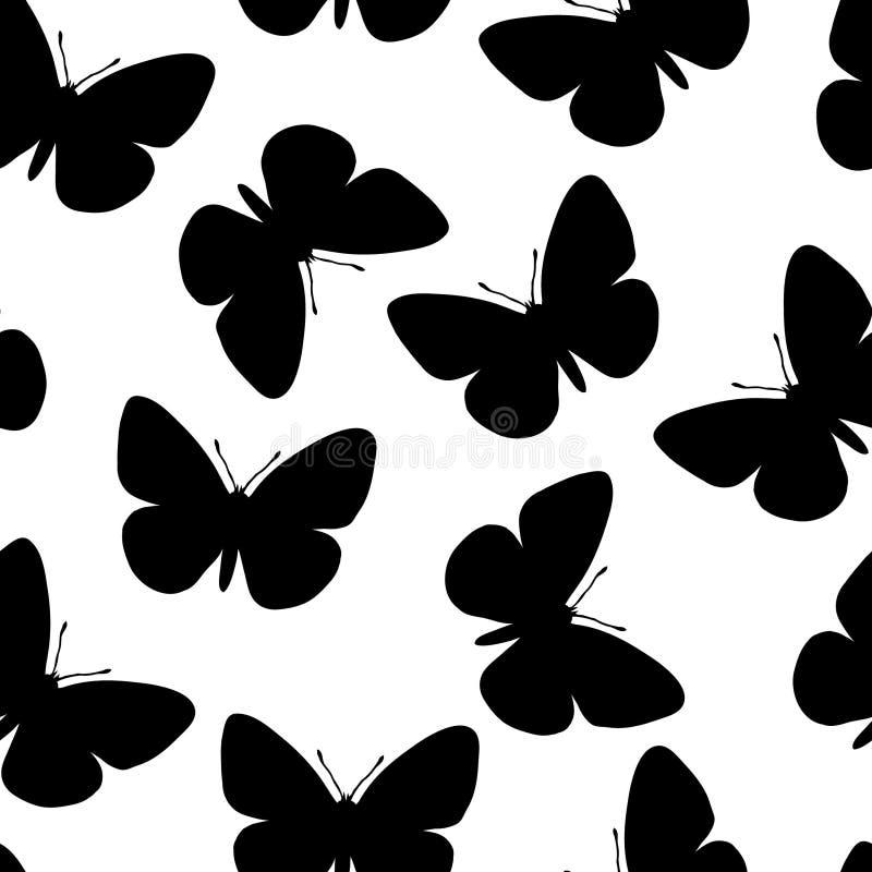картина бабочки безшовная бесплатная иллюстрация
