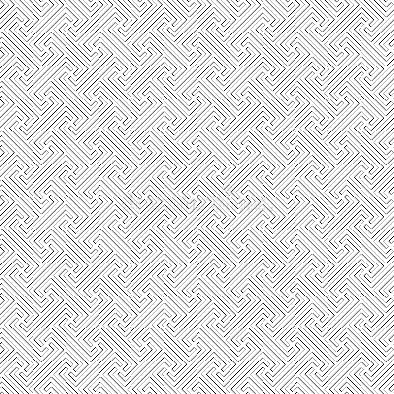 Картина Бали соплеменная - текстура вектора безшовная иллюстрация вектора