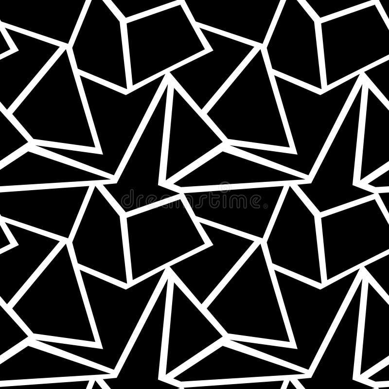 Картина безшовного вектора геометрическая иллюстрация вектора