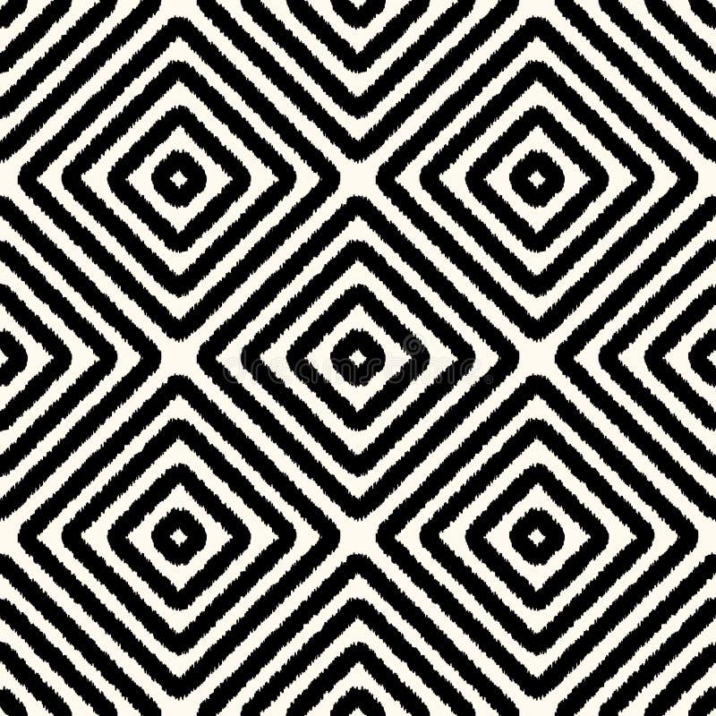 Картина безшовного квадратного косоугольника геометрическая бесплатная иллюстрация