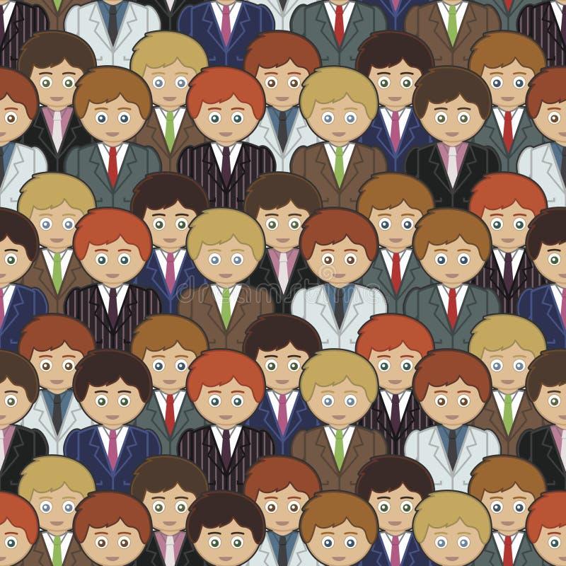 картина бизнесменов иллюстрация штока