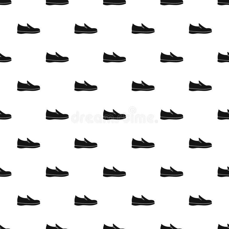 Картина ботинка Loafer, простой стиль бесплатная иллюстрация