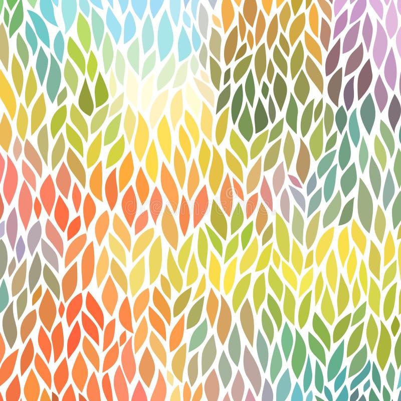 Картина вектора безшовная абстрактная нарисованный вручную иллюстрация вектора