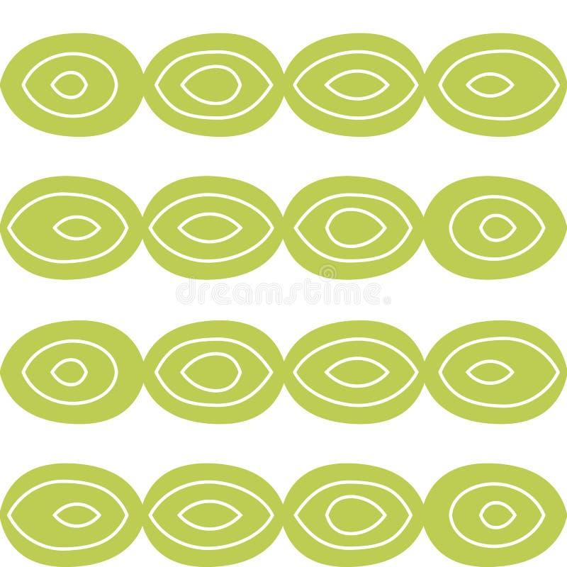 Картина вектора безшовная в нарисованном вручную стиле резюмируйте диаграммы круги иллюстрация вектора