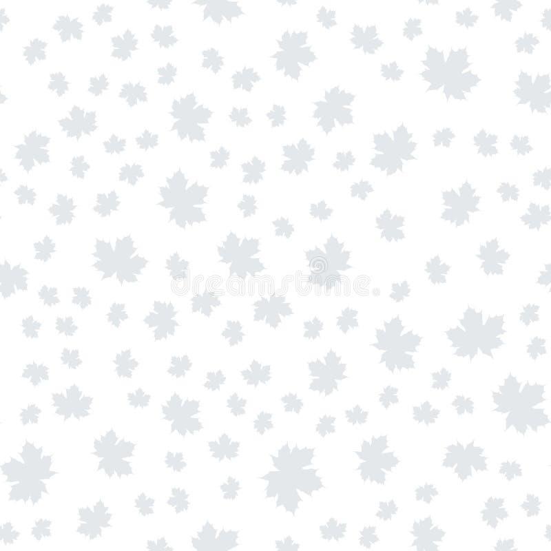 Картина вектора безшовная с падением лист