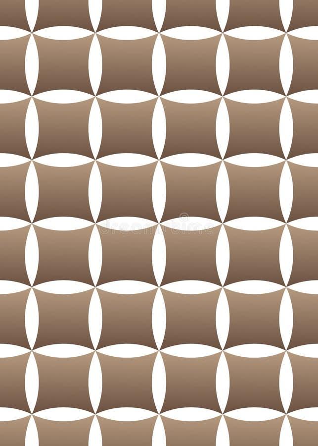 Картина вектора геометрическая безшовная на белой предпосылке иллюстрация штока