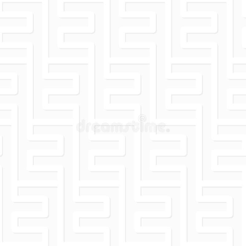 Картина вектора - геометрическое безшовное простое черно-белое moder бесплатная иллюстрация