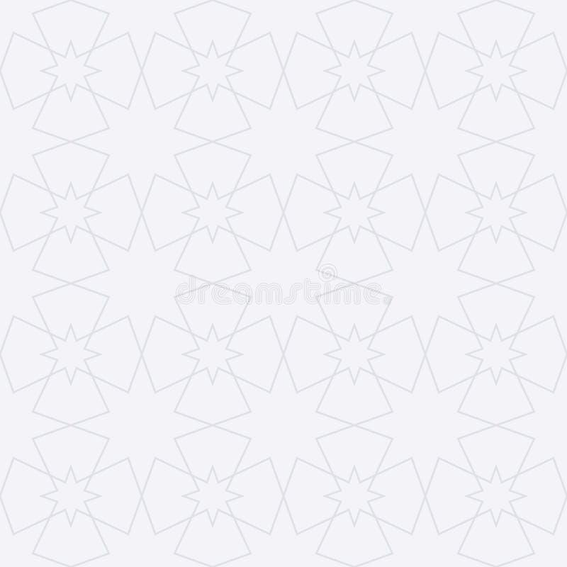 Картина вектора запаса исламская безшовная иллюстрация вектора