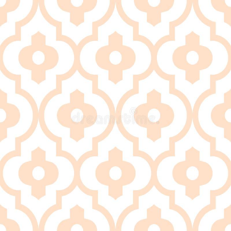 Картина вектора косоугольников геометрическая смелейшая безшовная иллюстрация вектора