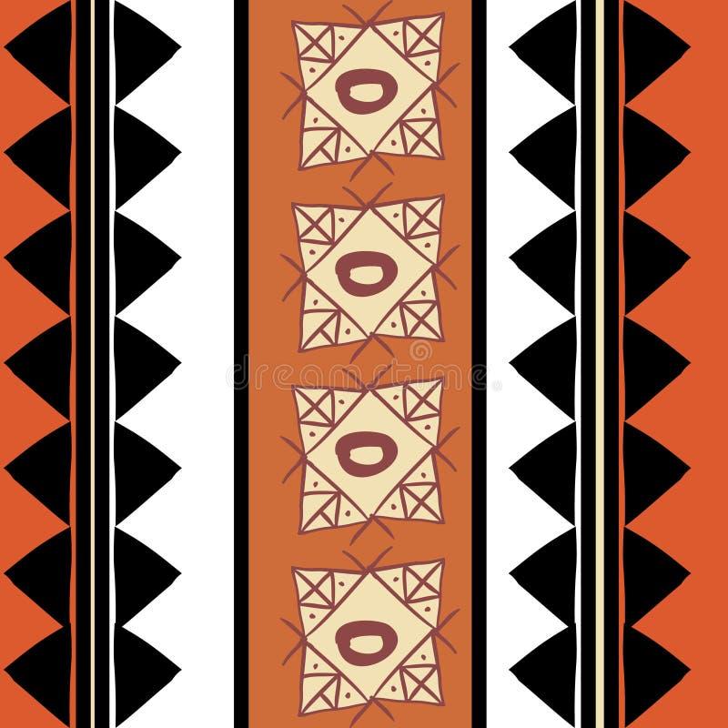 Картина вектора племенная с handmade красочной руки вычерченное этническое Хороший для ваших создания программы-оболочки и печати иллюстрация вектора
