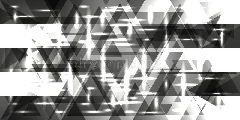 Картина вектора плит серебра и металла в серых тонах иллюстрация штока