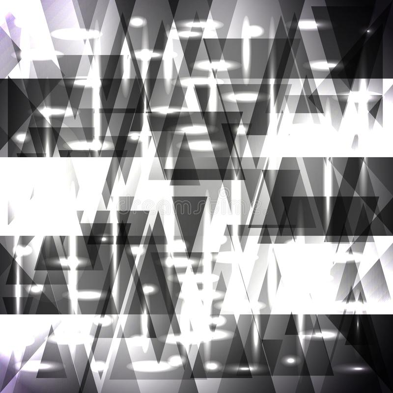 Картина вектора сверкная серых нашивок и частей иллюстрация штока