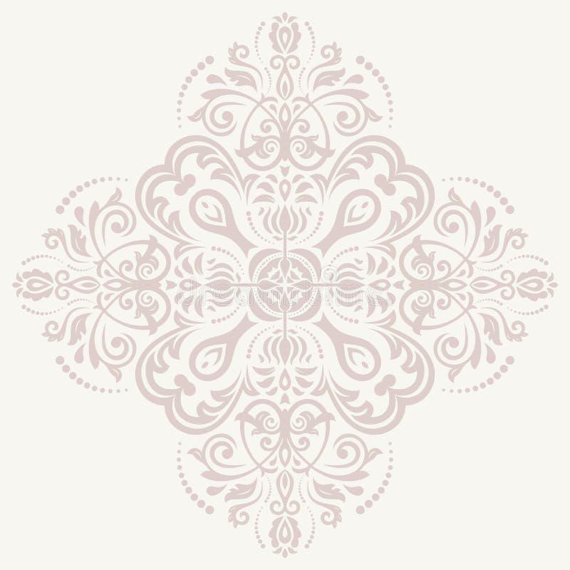 Картина вектора штофа Предпосылка Востока бесплатная иллюстрация