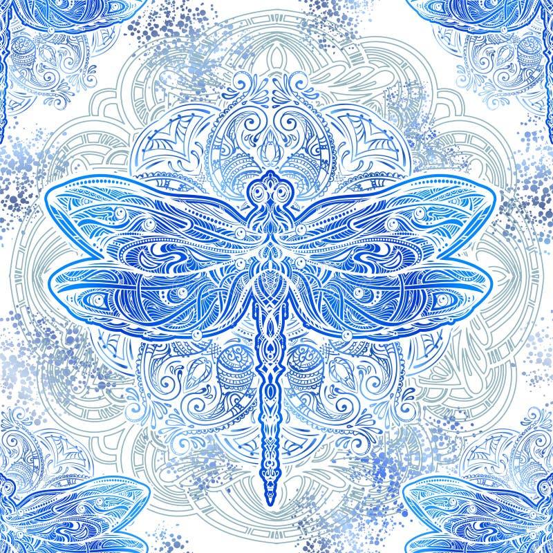 Картина вектора Dragonfly бесплатная иллюстрация