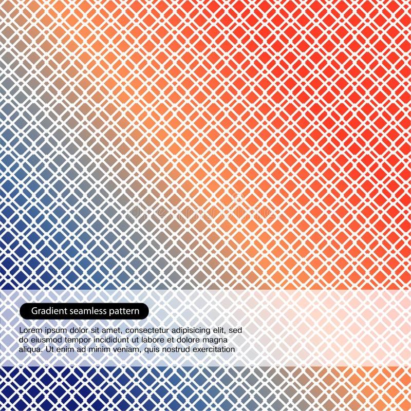 Картина вектора multicolor безшовная иллюстрация вектора
