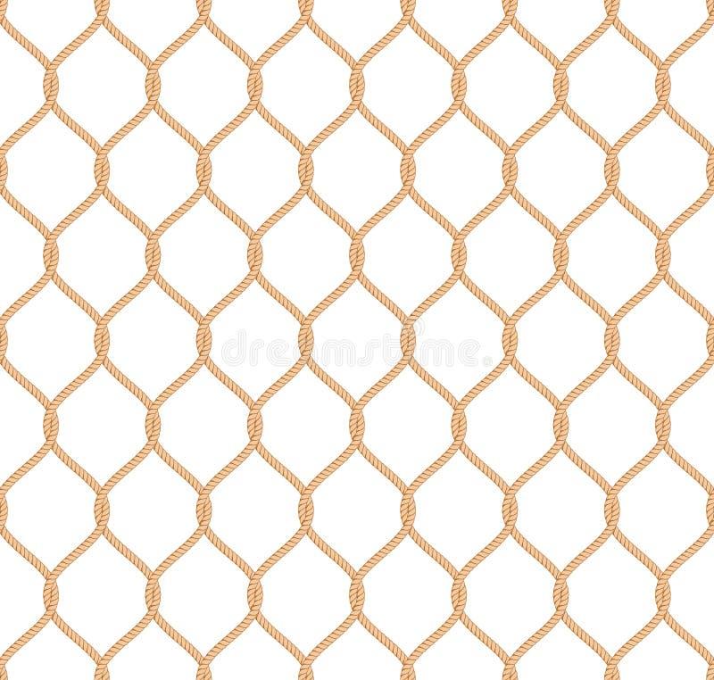 Картина веревочки морская сетчатая бесплатная иллюстрация
