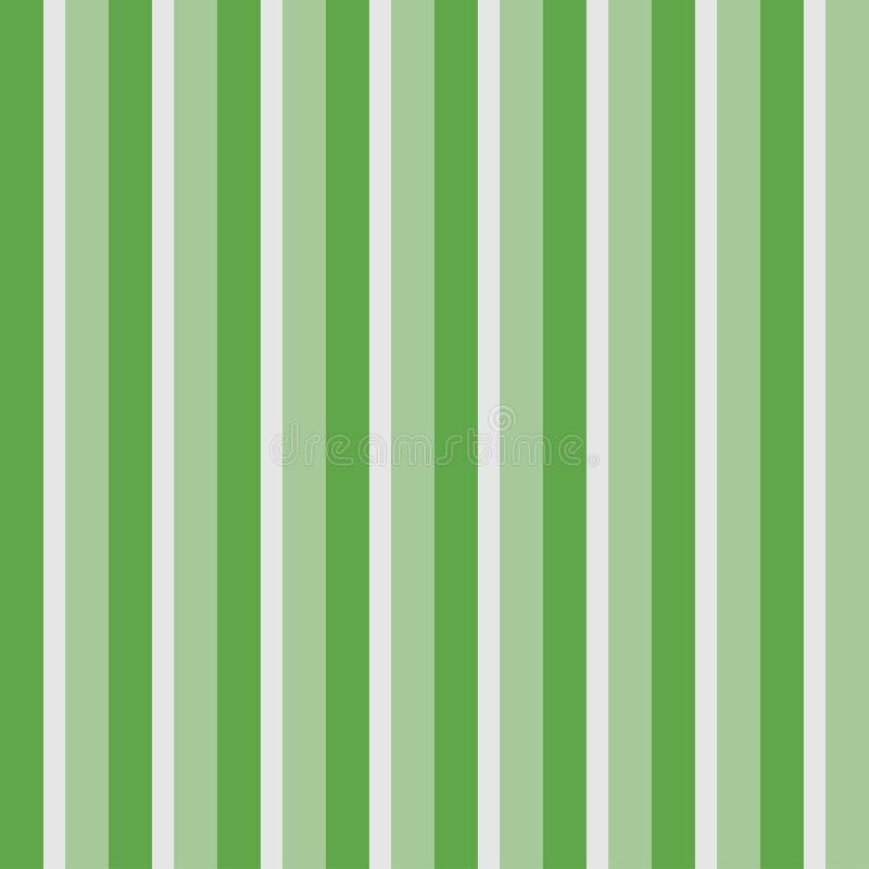 Картина вертикальных нашивок безшовная Позеленейте striped обои, предпосылку линий вектор иллюстрация вектора