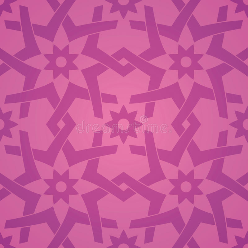картина влюбленности цветка геометрическая безшовная иллюстрация вектора