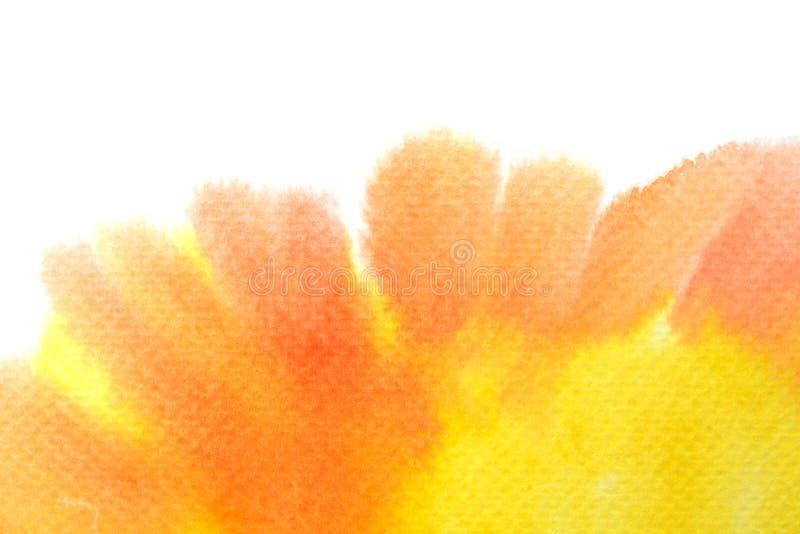 Картина воды конспекта красочная Концепция иллюстрации пастельного цвета стоковое фото