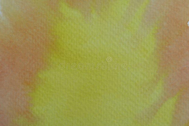 Картина воды конспекта красочная Концепция иллюстрации пастельного цвета стоковое изображение