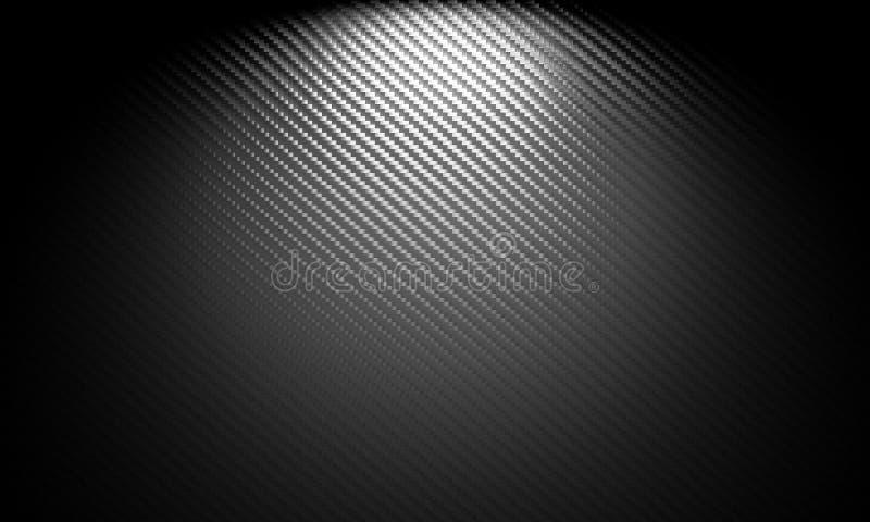 картина волокна углерода облегченная материальная твердая иллюстрация вектора