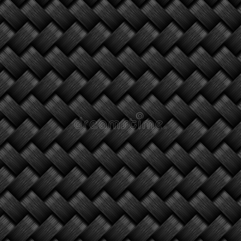 Картина волокна углерода безшовная бесплатная иллюстрация