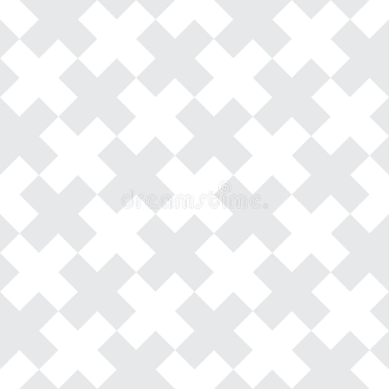 Картина геометрии x вектора современная абстрактная черно-белая безшовная геометрическая перекрестная предпосылка иллюстрация штока