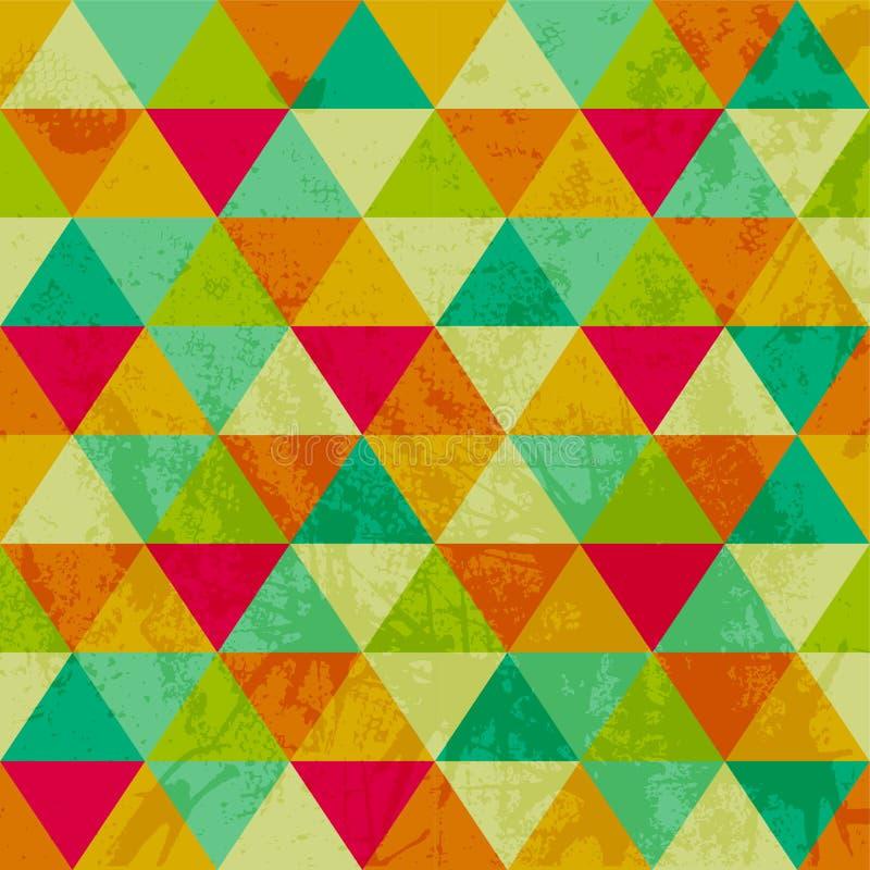 Картина геометрических форм. Triangles.Texture с подачей спецификаций бесплатная иллюстрация