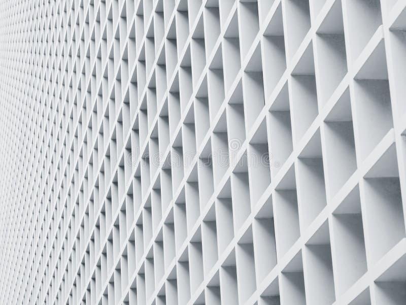 Картина деталей архитектуры панели цемента геометрическая стоковая фотография