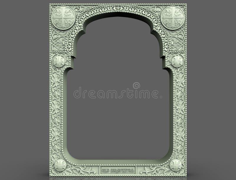 Картина для формулировок, логотипа, эмблемы, дела, талисмана, прогноза, будущего, орнамента, черный, деревянный, деревянного, арт иллюстрация вектора