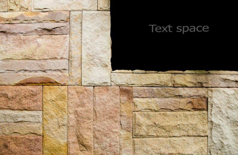 Картина декоративной коричневой серой поверхности каменной стены шифера, предпосылки текстуры стоковые фото
