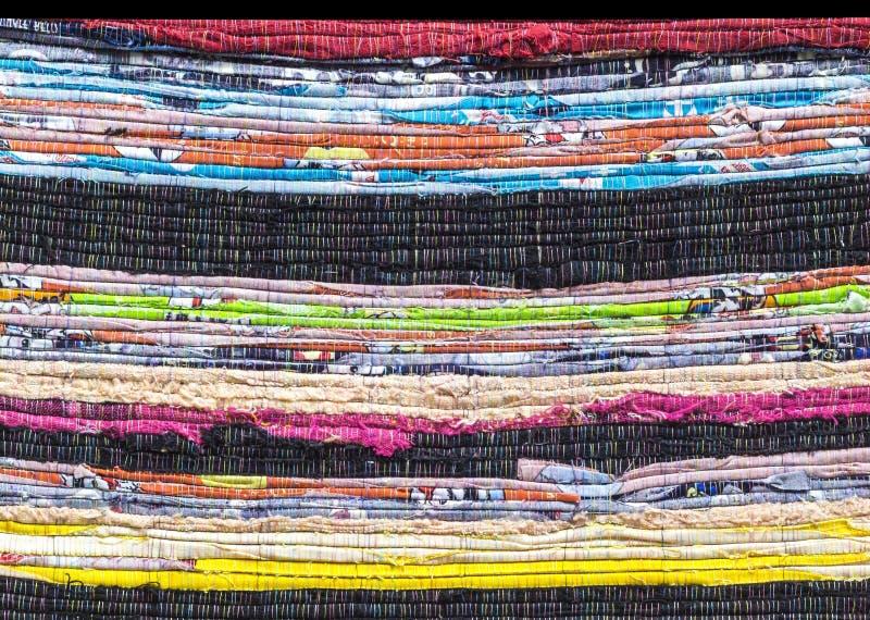 Картина детали перемежения ткани стоковая фотография rf