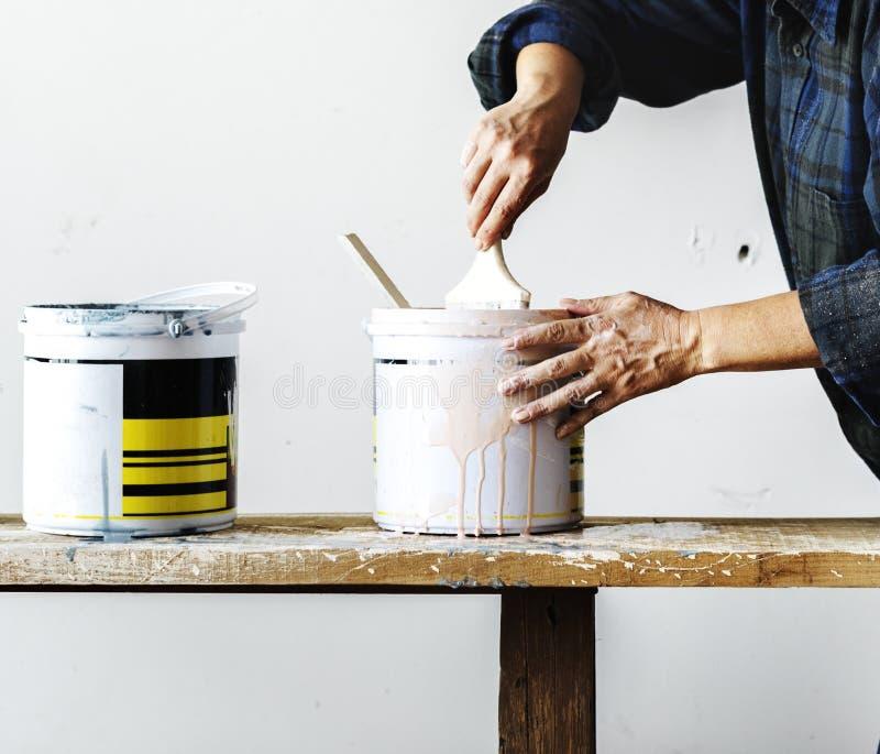 Картина женщины конструкции стоковая фотография rf