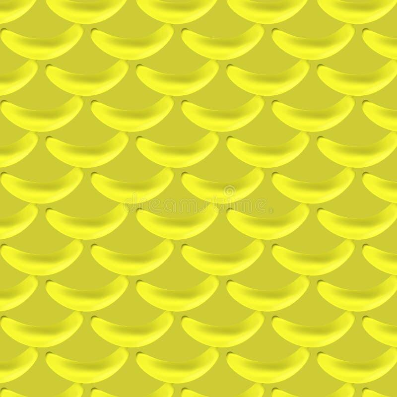 Картина желтых бананов бесплатная иллюстрация