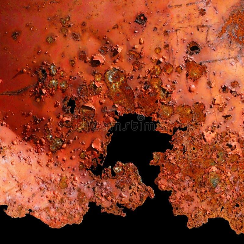 Картина заржаветой поверхности стоковые изображения rf