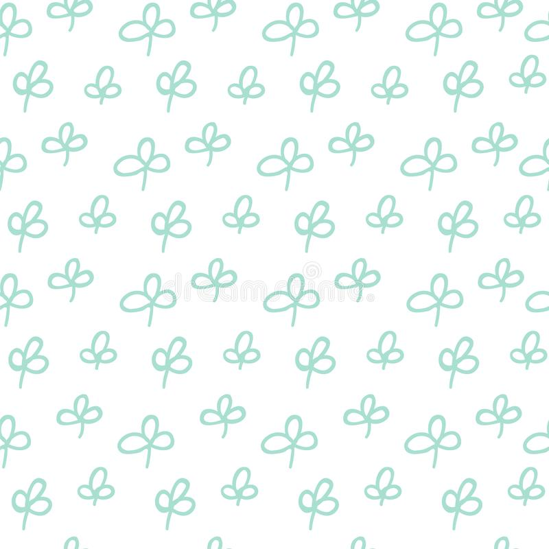 Картина зеленого растения иллюстрация штока