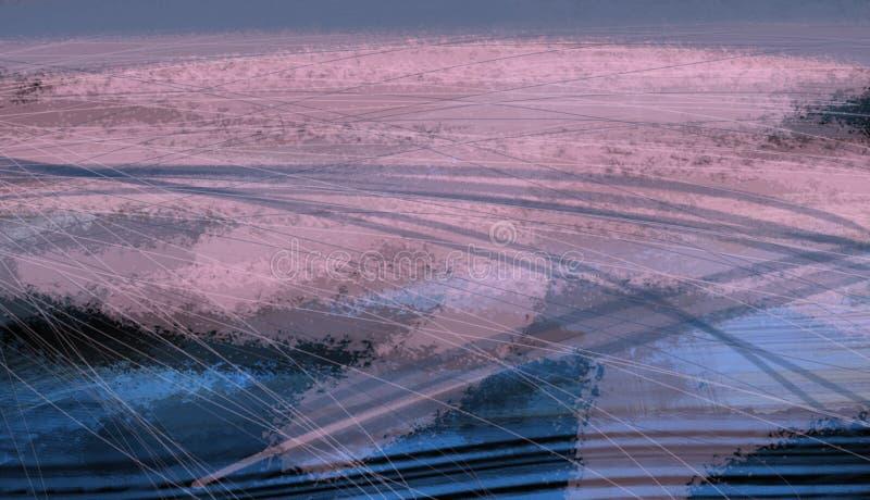 Картина иллюстрации картины текстуры планеты земли ландшафта вида с воздуха иллюстрация штока