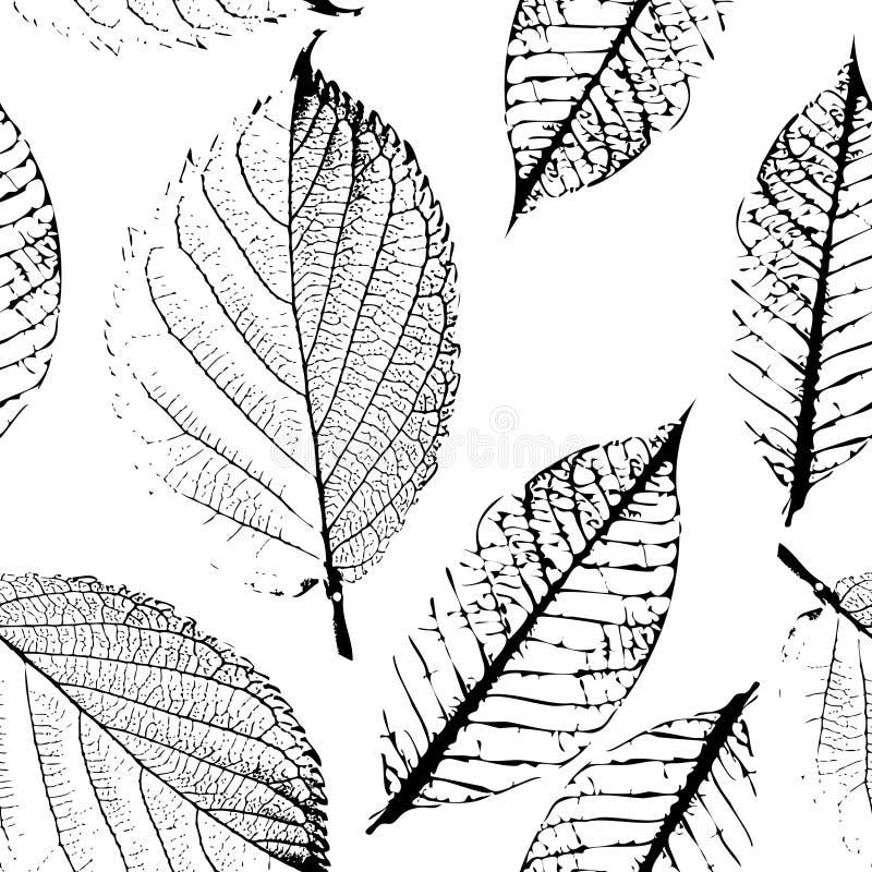 Картина листьев осени бесплатная иллюстрация