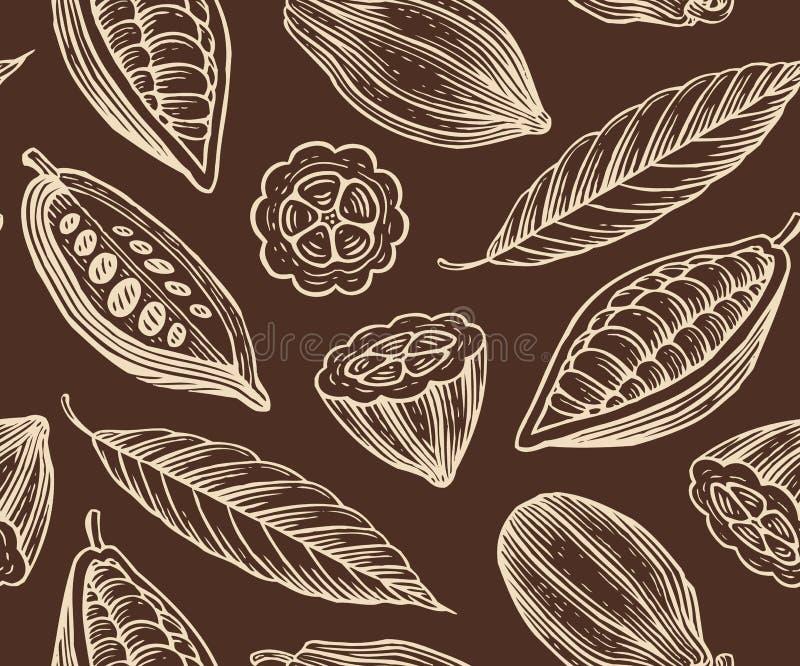Картина какао иллюстрация штока