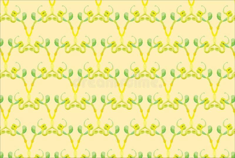 Картина кактуса вектора безшовная для иллюстратора иллюстрация вектора