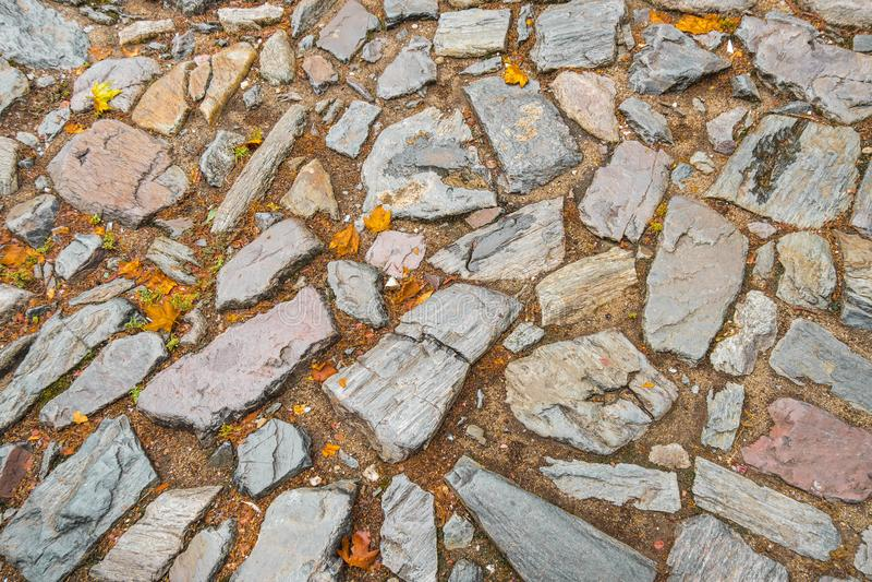 Картина каменных плиток Справочная информация стоковая фотография