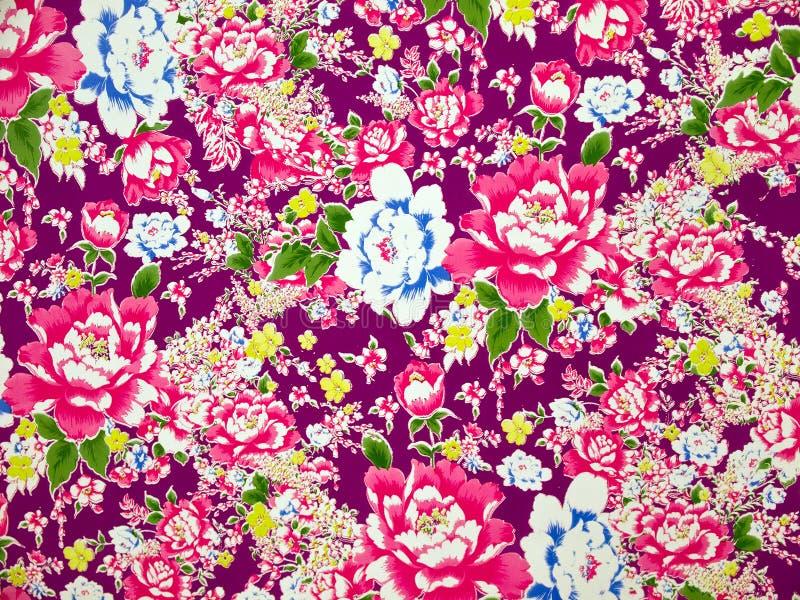 картина классической ткани предпосылки флористическая стоковые фотографии rf