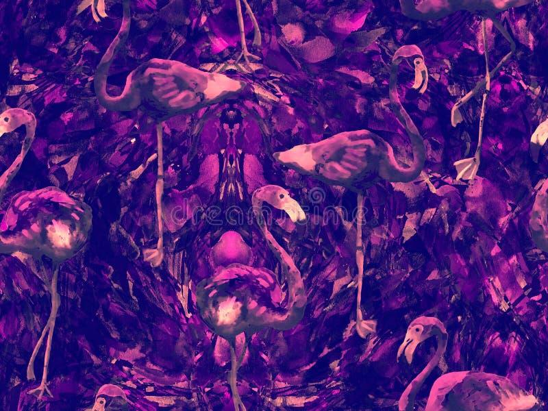 Картина конспекта калейдоскопа Boho безшовная иллюстрация штока