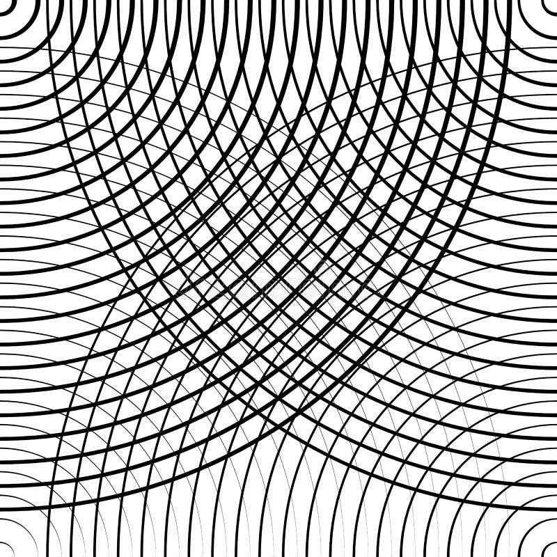 Download Картина концентрических кругов безшовная Monochrome Абстрактное Geometr Иллюстрация вектора - иллюстрации насчитывающей клетчато, черный: 81815308