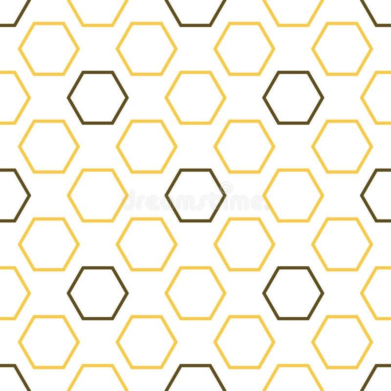 Картина королевской пчелы безшовная бесплатная иллюстрация