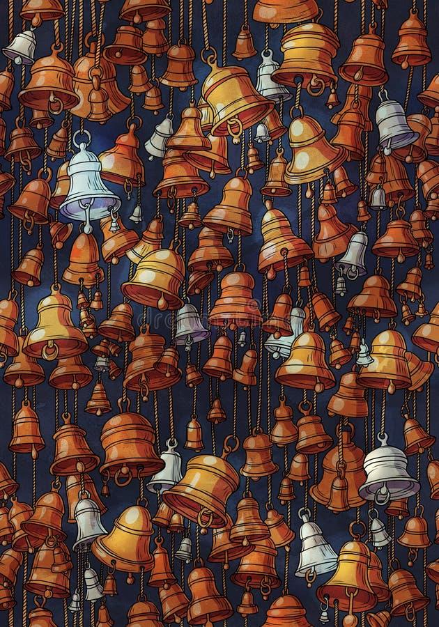 Картина колоколов стоковая фотография