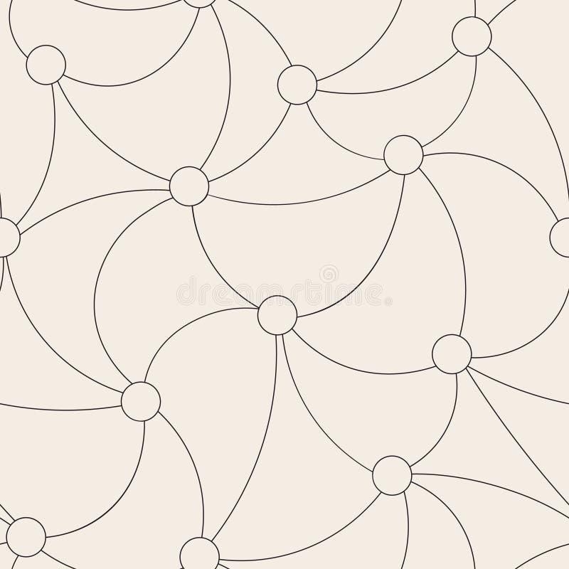 Картина красивой простой решетки безшовная иллюстрация вектора