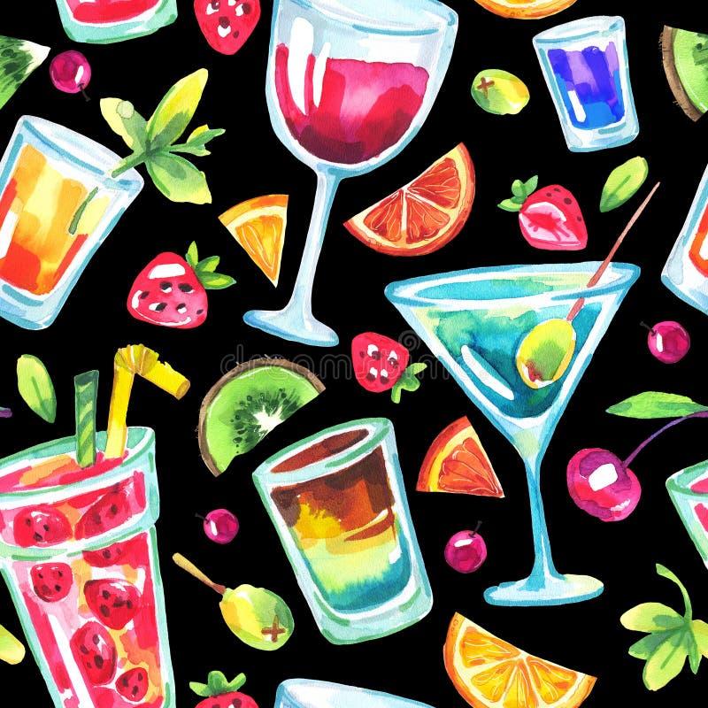 Картина красочной партии безшовная иллюстрация штока